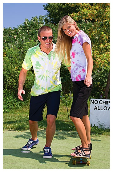 "Fun and trendy golf for everyone ""not fit for the fairway"" - about time their golf attire got a young look. @quagmiregolf"