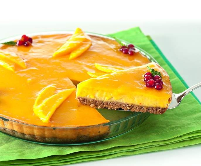 Receta Cheesecake de mango por Thermomix Magazine
