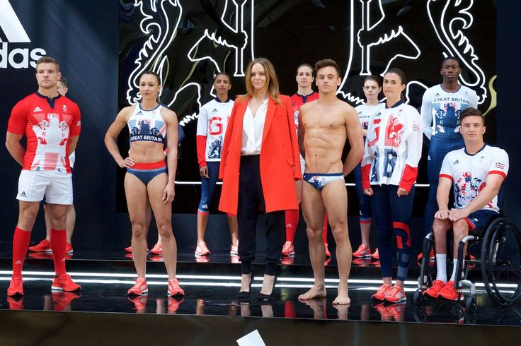 Stella McCartney unveils the Team GB and Paralympics GB kit for the Rio 2016 Olympics