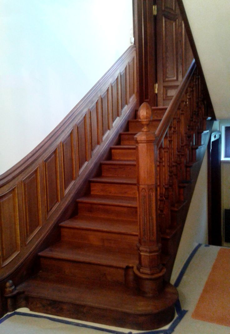 Stairs with coffer (oak)  www.mrgepetto.com