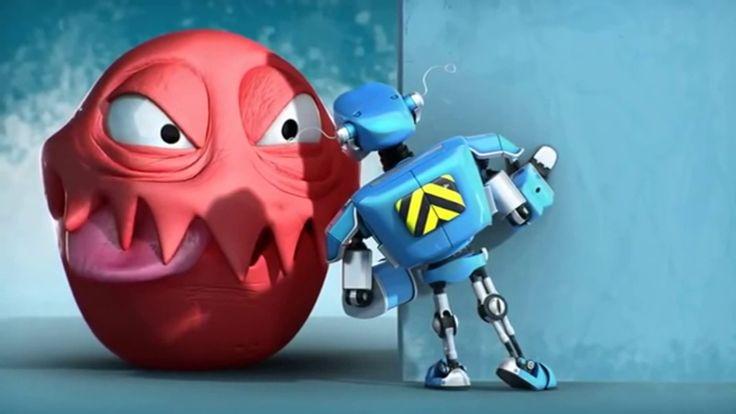 Animação - O Robô e a pequena grande criatura