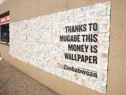 Image result for zimbabwe trillion dollar poster
