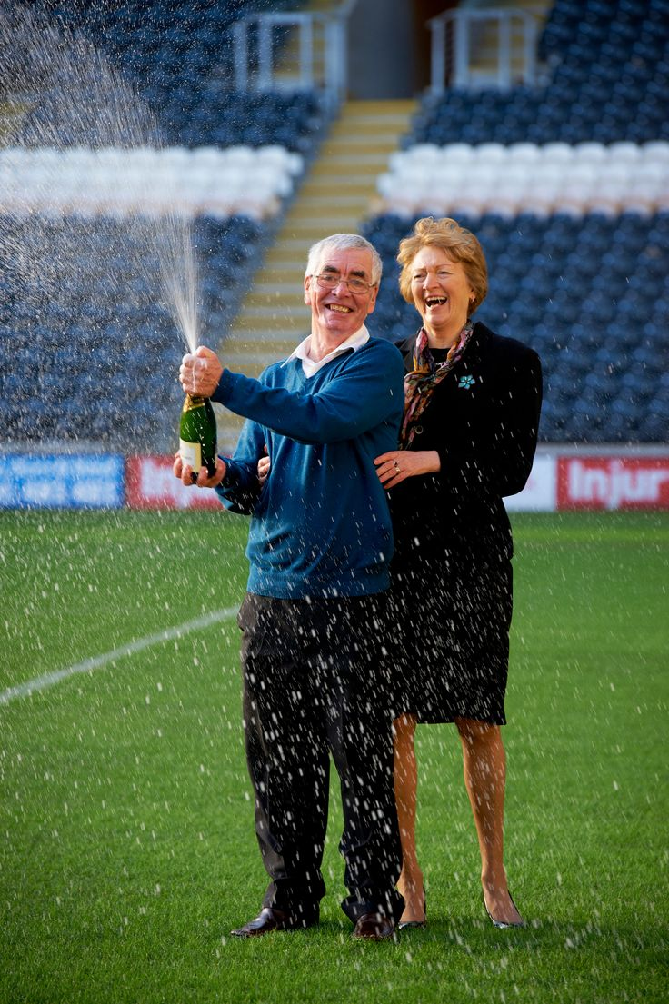 A retired couple from Hull are set to fulfil the dream of a lifetime after winning £1,000,000 in the EuroMillions UK Millionaire Raffle draw on New Year's Eve. Read more here: http://itv.co/1fao2CR