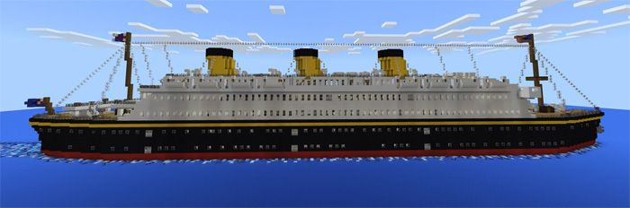 It takes the creator less than a month to redesign S.S. Floria- a famous ship in the 1900s. The ship is not only beautiful but also realistic with a variety of rooms for passengers. Because the map is established in a flat world, it leaves some limitations in use. There is a wide range of arenas... https://mcpebox.com/s-s-floria-creation-map-minecraft-pe/