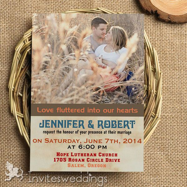 best 25+ rustic wedding invitations cheap ideas on pinterest, Wedding invitations