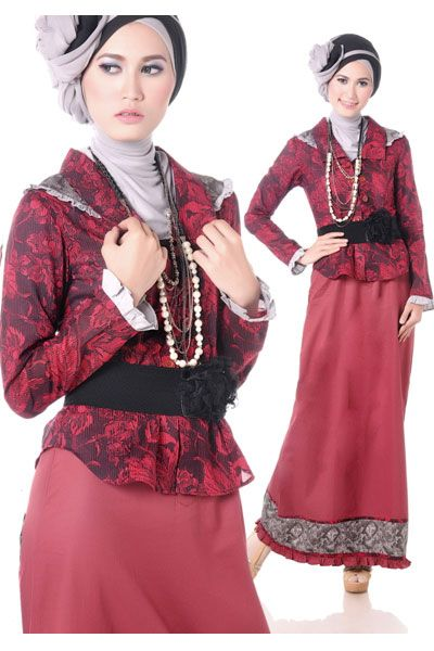 #Busana two pieces (blus dan skirt)
