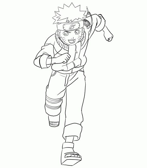 Naruto Coloring Pages To Print