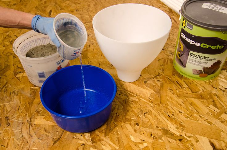 IKEA Hack: How to Make a Modern Concrete Pendant Lamp | Curbly