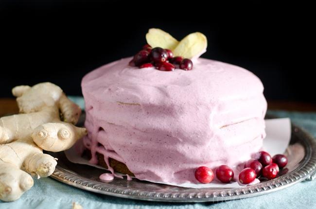 Cranberry Rose Cream Frosting