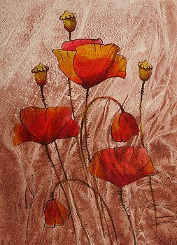 Khromykh Natalia - poppies