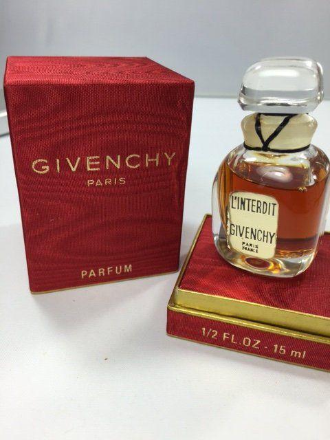 Linterdit Givenchy Pure Parfum 30ml Original 1960s Sealed Bottles