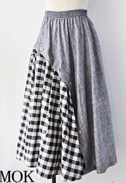Фото платья костюмы из льна 98
