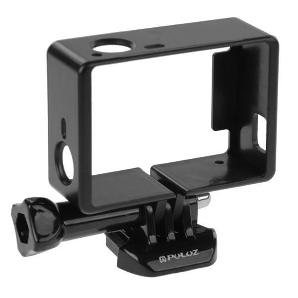 PULUZ Standard Border Frame Protective Housing with Screw Base Mount for Gopro Hero 4 Sports & Action Video Cameras Accessories