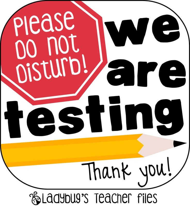 Ladybug's Teacher Files: Testing Sign! Love her signs!!!