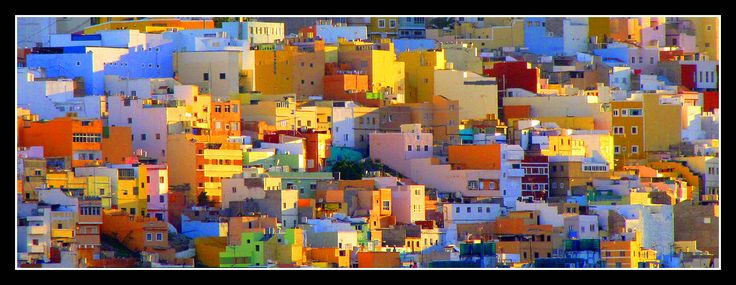 All sizes | Colorful hillside neighborhood in Lisbon, Portugal in the morning sun | Flickr - Photo Sharing!