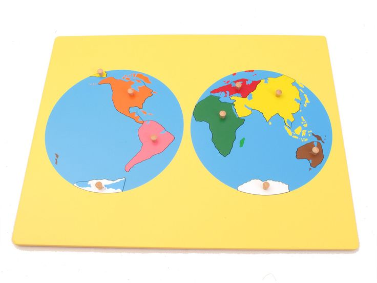 Board Map of the World