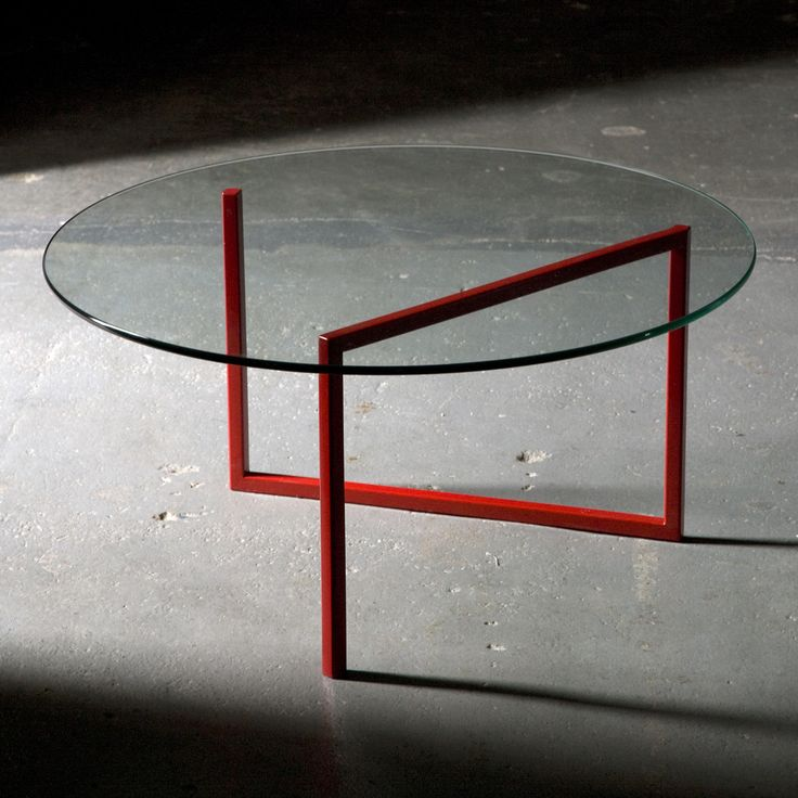 Snake Coffee Table Red