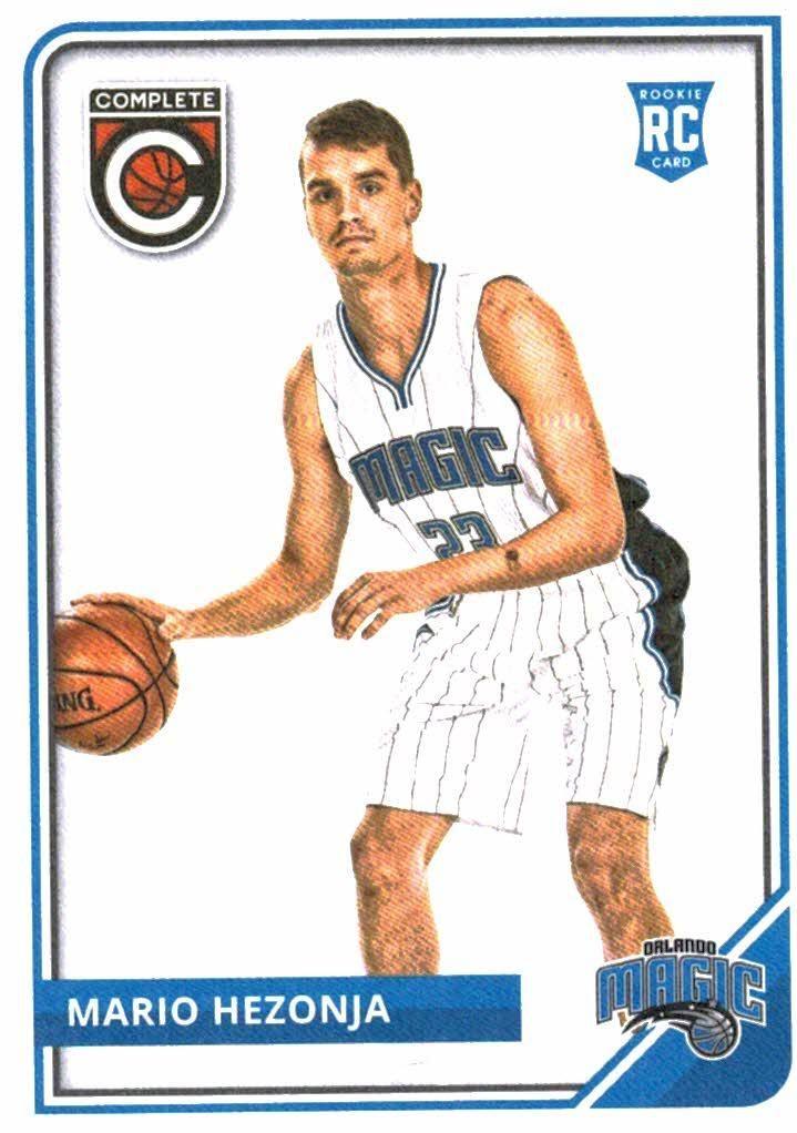 2015-16 Panini Complete Mario Hezonja Rookie Card Orlando Magic