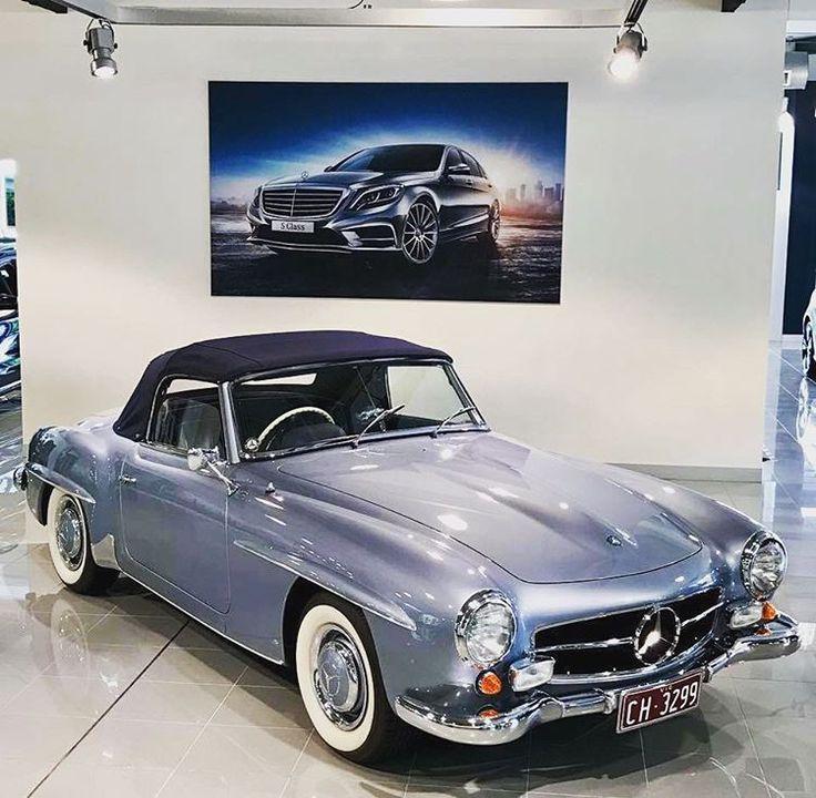 17 best images about mercedes benz 190sl blue color for Mercedes benz toorak