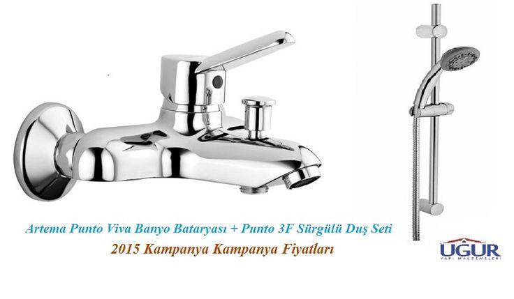 Artema Punto Viva Banyo Bataryası + Artema Punto 3f El Duşu Seti134,75 TL + KDV