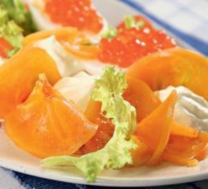 Копченый лосось с хурмой. Пошаговый рецепт с фото, удобный поиск рецептов на Gastronom.ru