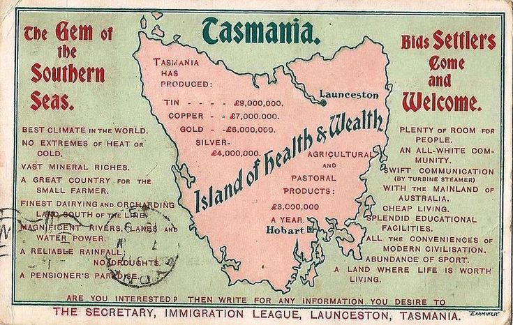 Tasmania, the Island of Health and Wealth - 1909 | by Aussie~mobs