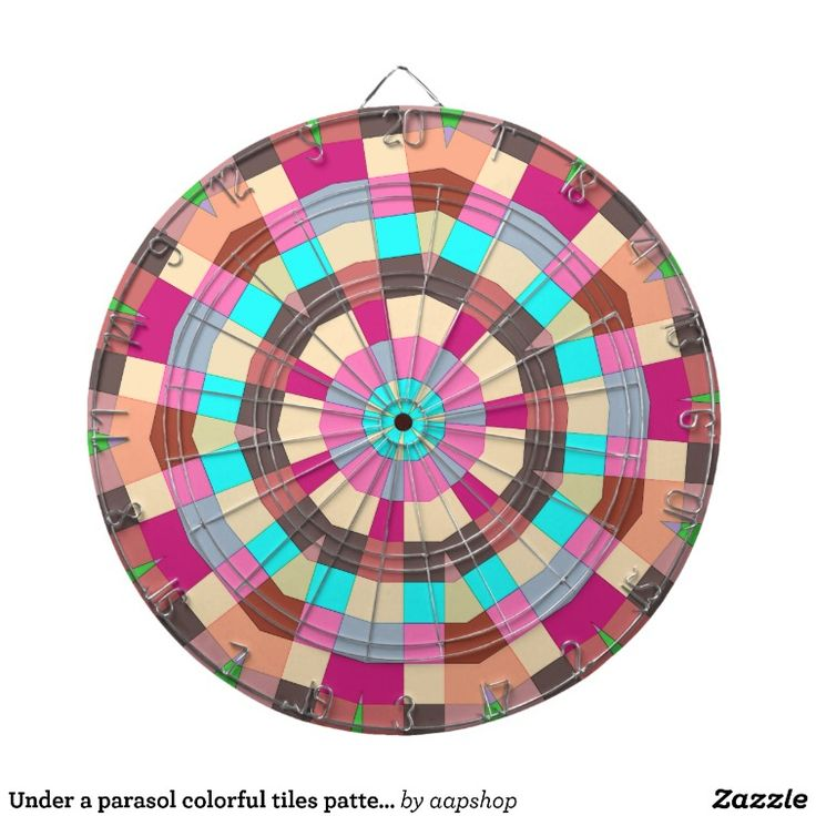 Darts for fashionable players who love a challenge with this colorful pro dartboard