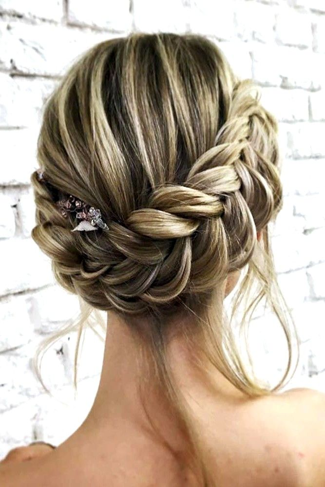 prom hair styles for women in 2020 | Braids for medium ...