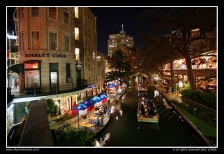 jf~Gotta love this right out our back door....The Riverwalk...  Downtown San Antonio