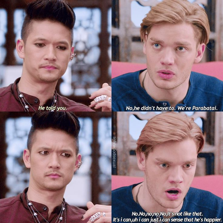"""#Shadowhunters 2x08 """"Love Is a Devil"""" - Magnus and Jace 