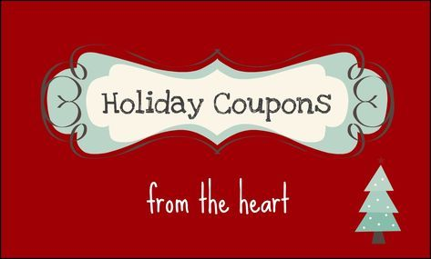 Hey, friends! I made up this little printable coupon bookfor you todownload and use now that the holidays are just around the corner! It makes a fun {and free!}stocking stuffer for a spouse, a friend, a parent, or even your kids! Here you are:  ONE ARTSY MAMA'S HOLIDAY COUPON BOOK    Materials:...Read More »