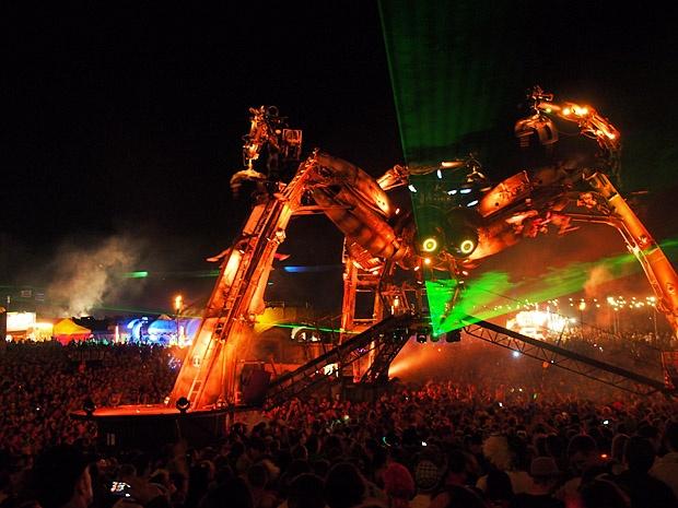 Arcadia @ Boomtown Fair festival 2012