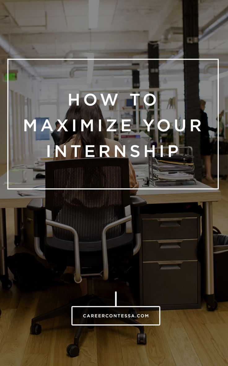 The Secret Ingredient To A Successful Internship