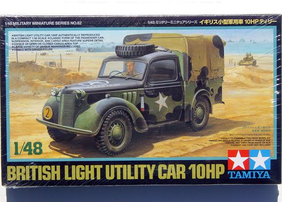 Maquette Tamiya 32562 British Small Staff Car 10HP 1:48