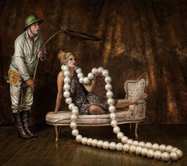 One eyeyeland pearls