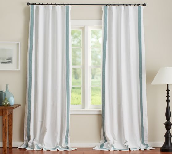 Morgan Curtain Blackout Drapes Pottery Barn Curtains