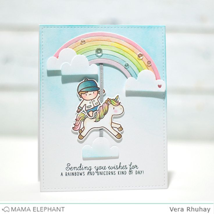 18 best mama elephant images on pinterest mama elephant stamps today im sharing my cards featuring the new unicorns and rainbows stamp set along with the rainbow high creative cuts on m4hsunfo