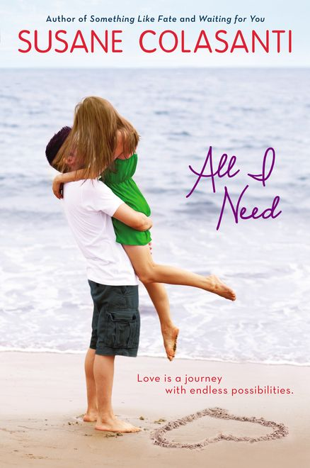 ALL I NEED by Susane Colasanti -- The Notebook meets Serendipity in this modern teen romance!