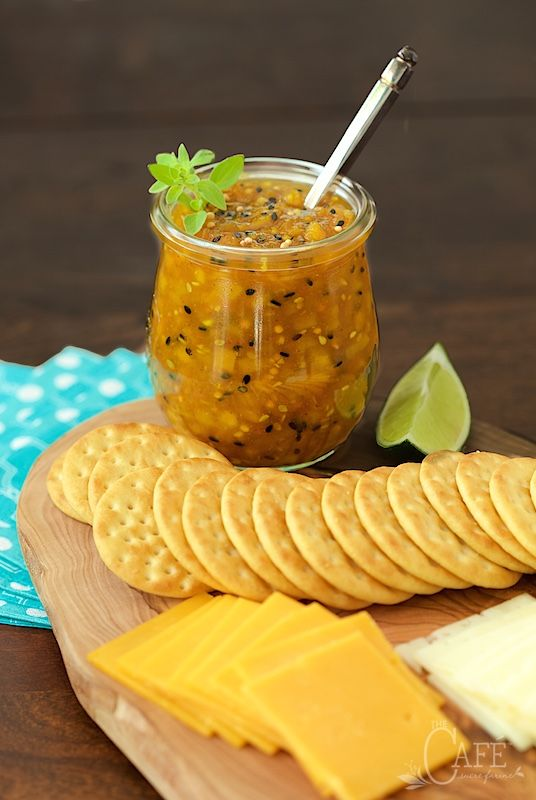 Mango Sriracha Chutney recipe - It's fabulous for appetizers, as a sandwich spread, a base for pizza, a glaze for grilled chicken...