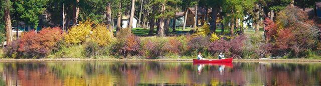 Tamaracks Resort, Seeley Lake, Montana