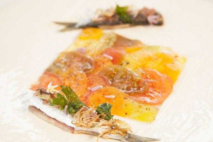 """Recette : """"Salade de tomates et sardines"""""""