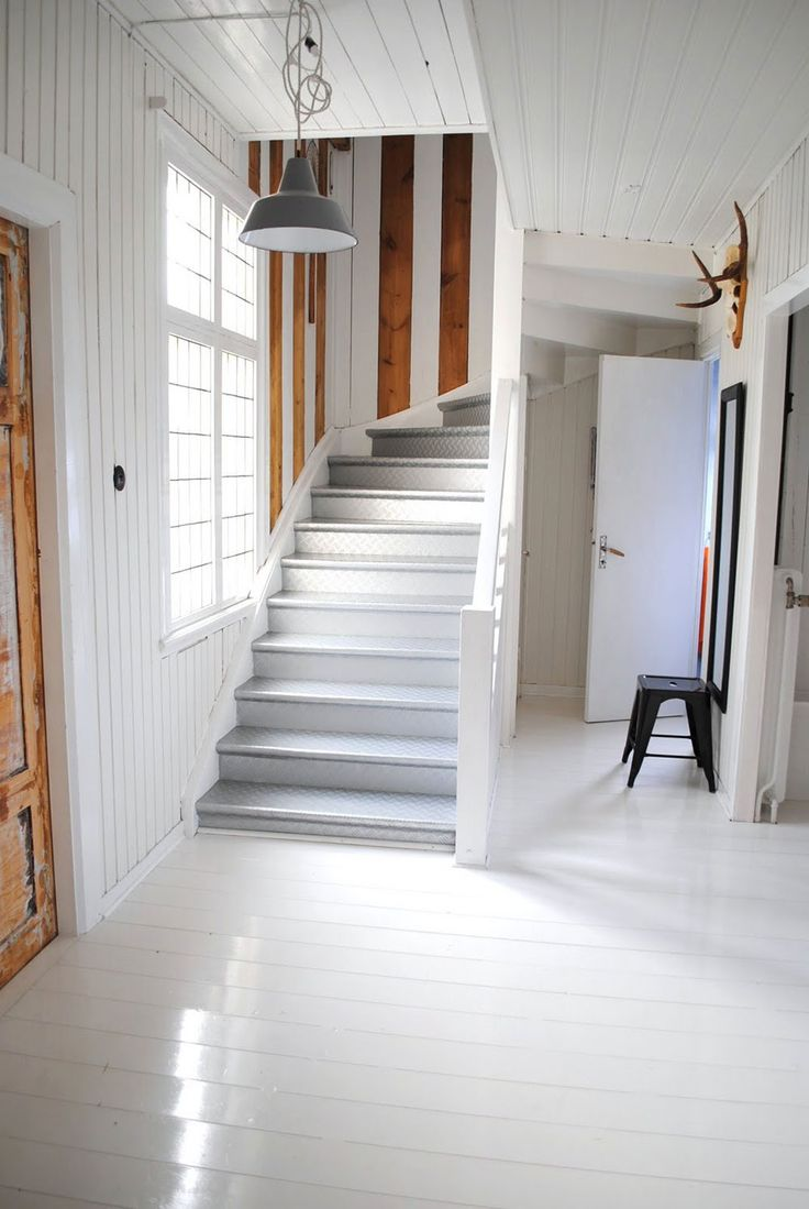 White, Home, Interior, Industrial, Minimal Inspiration, Staircase, Oracle Fox
