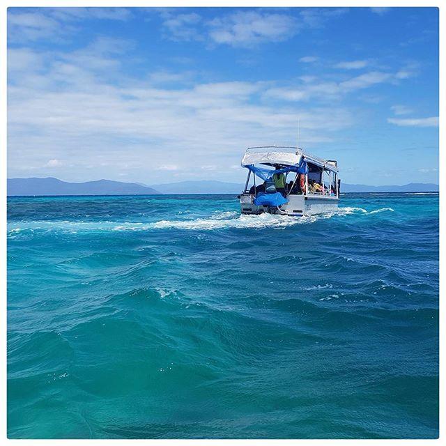 Entre Cairns et Green Island - Australie  Now playing  True Blue - Madonna