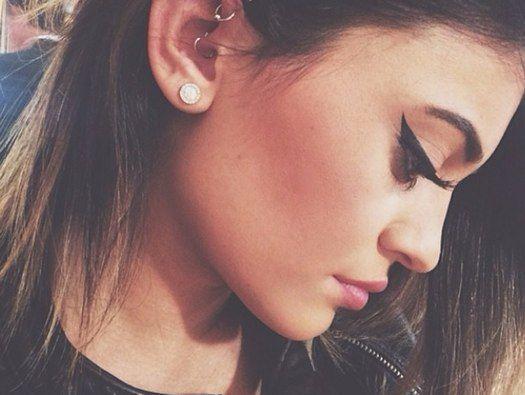 Kylie Jenner Ear Piercing