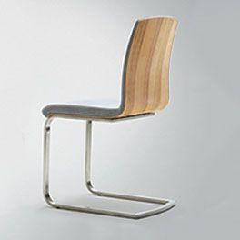 Stuhl Auricia Moderner Freischwinger Mit Metall Gestell Freischwinger Stuhle Sitzgelegenheiten