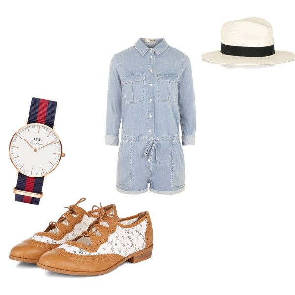 Oxford inspired outfit 0001 by carlifornia101 on Polyvore featuring polyvore fashion style Topshop Daniel Wellington rag & bone