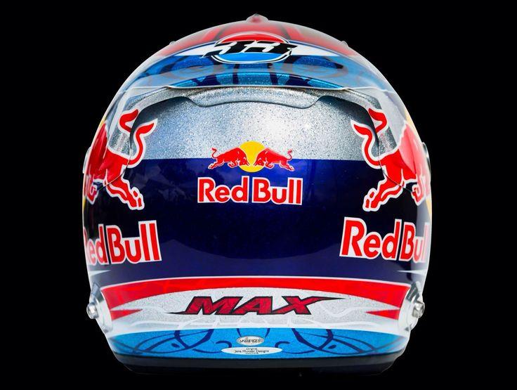 Helmet Design Max Verstappen 2015 Scuderia Toro Rosso