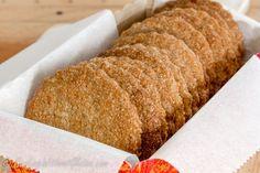 Песочное печенье без глютена из перемолотой гречневой крупы