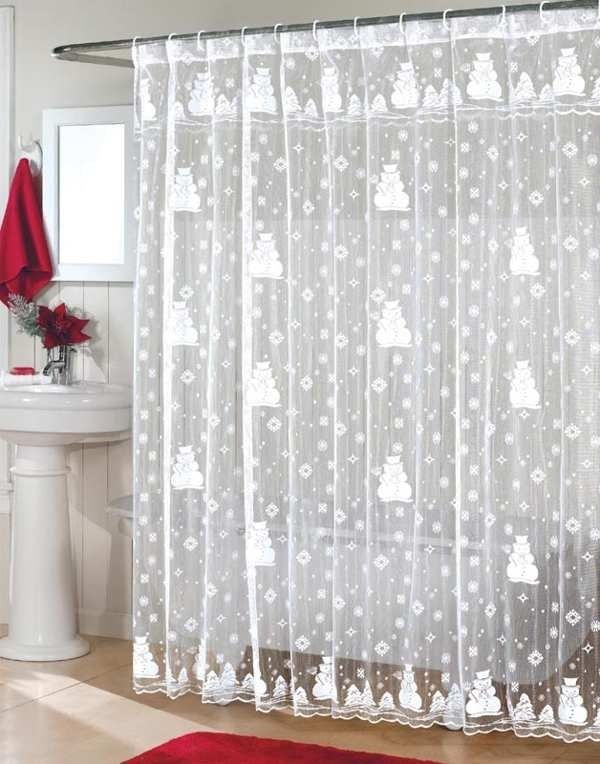 Christmas shower curtains uk curtain menzilperde net for Bathroom decor nairobi