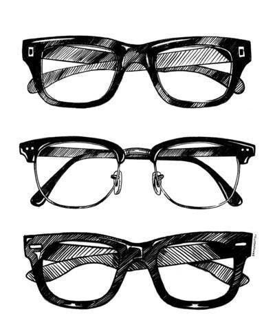 Glasses drawing I want mine back. :(